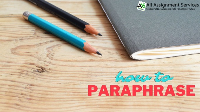 how to paraphrase?