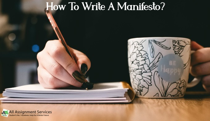 How to write a manifesto_