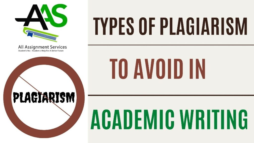 Types of Plagiarism to Avoid in Academic Writing